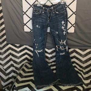 Customized True Religion Jeans